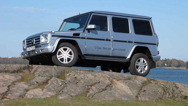 Koeajo: Mercedes-Benz G