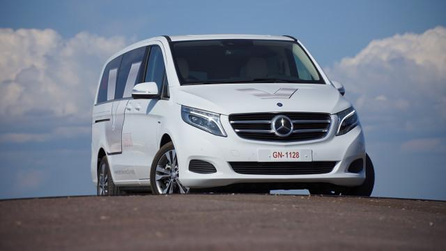 Koeajo: Mercedes-Benz V250