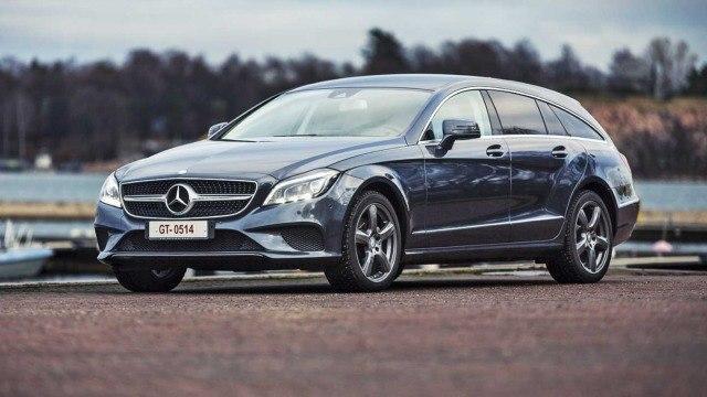 Koeajo: tyylifarmari Mercedes-Benz CLS