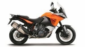 KTM 1190 Adventure Halvin 2 007 € / Kallein 3 640 €, Ero 1 633 €