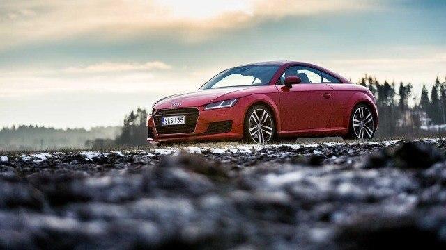 Koeajo: raikas Audi TT