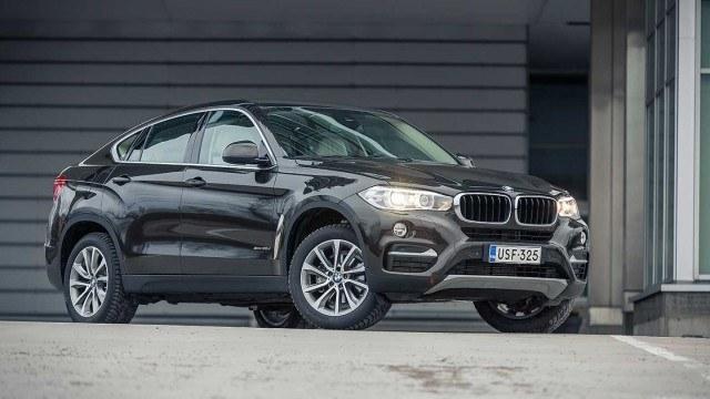 Koeajo: röyhkeän ulkomuodon omaava BMW X6