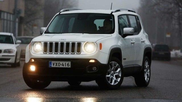 Koeajo: erilainen katumaasturi: Jeep Renegade