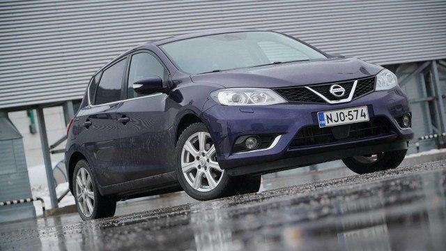 Koeajo: perusvarmaan muotoiluun luottava Nissan Pulsar