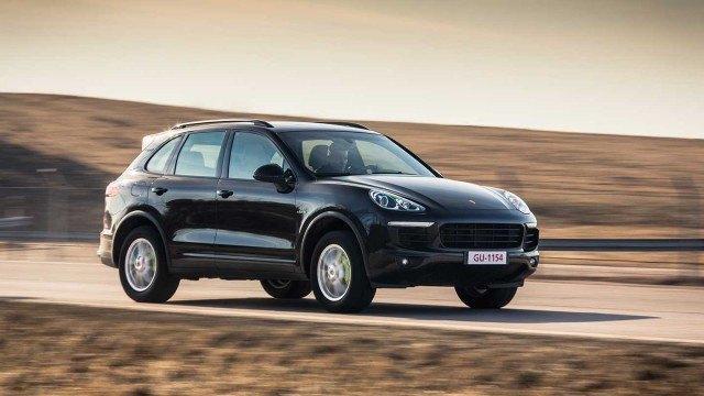 Koeajo: ladattava Porsche Cayenne S