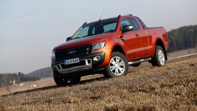 Koeajo: miellyttävä Ford Ranger