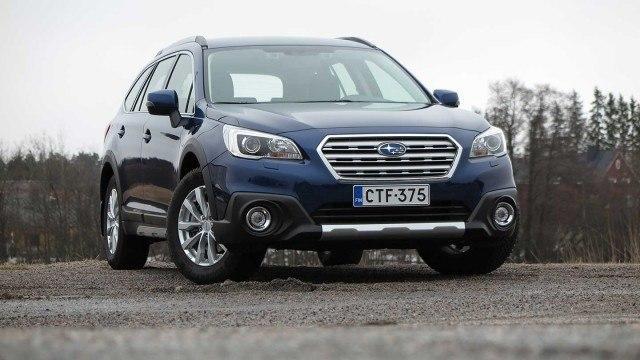 Koeajo: aavistuksen kevyempi Subaru Outback