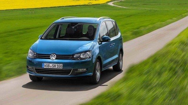 Koeajo: teknisesti päivitetty Volkswagen Sharan