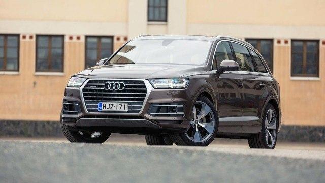 Koeajo: laadukas Audi Q7
