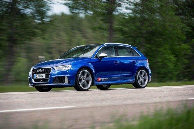 Koeajo: upeaääninen Audi RS 3 Sportback