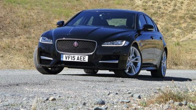 Koeajo: urheilullinen sekä mukava Jaguar XF
