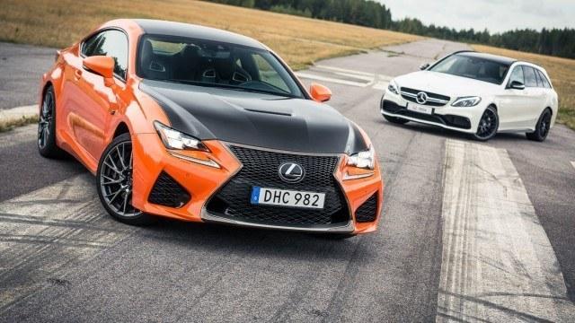 Unelmavertailu: Lexus RC F vastaan Mercedes-AMG C 63