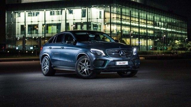 Koeajo: huomiota herättävä Mercedes-Benz GLE Coupé