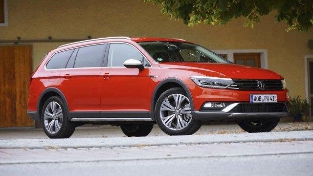 Koeajo: nelivetoinen Volkswagen Passat Alltrack