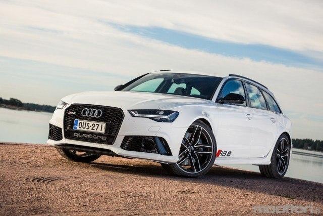 Koeajo: voimakas Audi RS 6 Avant