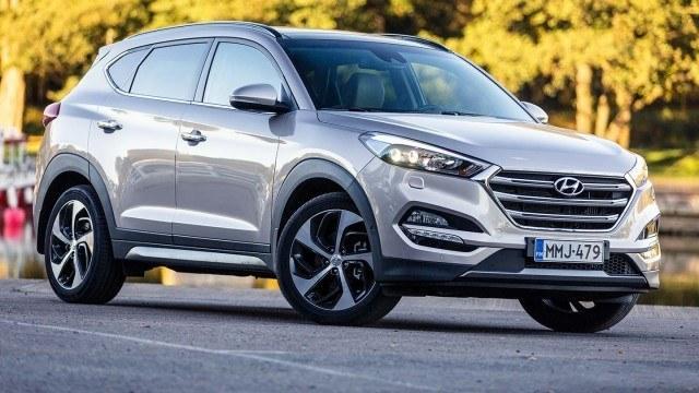 Koeajo: hiomaton Hyundai Tucson