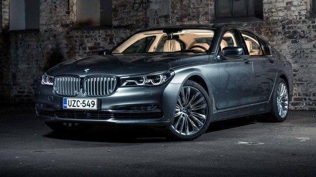 Koeajo: edustusauto BMW 730d