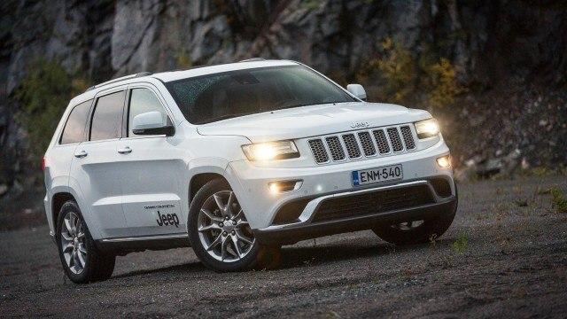 Koeajo: Malliston suurin ja kaunein: Jeep Grand Cherokee