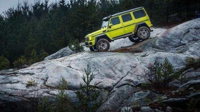 Maistiainen: Mercedes-Benz G500 4×4² – erikoismaasturi nuorentaa viisivuotiaaksi