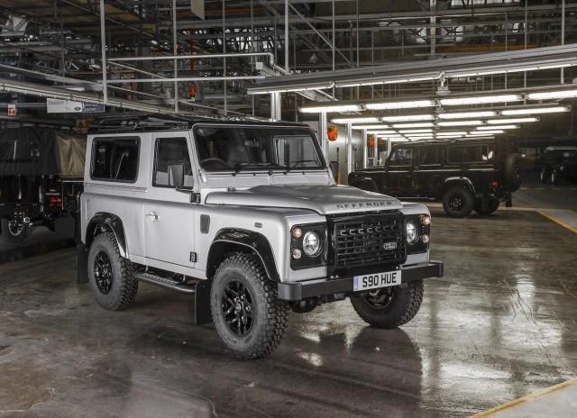 Land Rover Defender No 2,000,000
