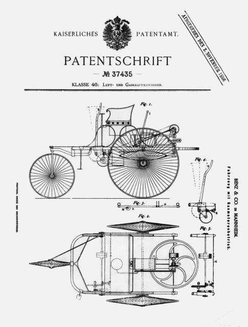 Benzin patentti täys