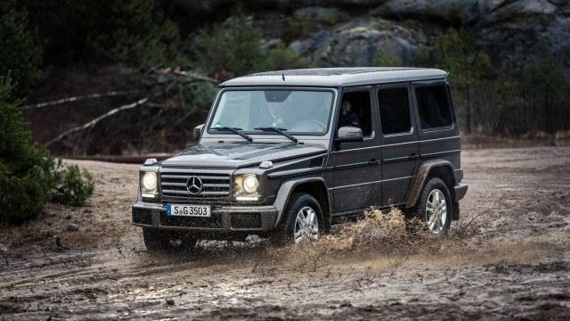 Koeajo: Salonkikelpoinen dinosaurus: Mercedes-Benz G