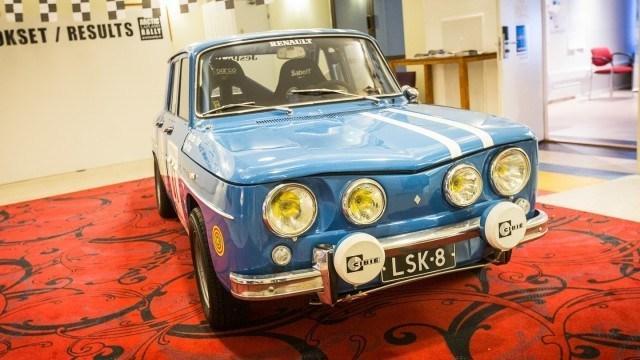 Renault 8 Gordini museon rakennusvaiheessa.