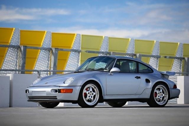 1994 Porsche 964 Turbo 3.6 S Flachbau – Kuva: Mathieu Heurtault