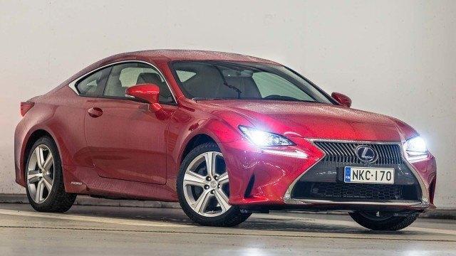 Koeajo: Lexus RC 300h – Hybridi V8:ia parempi?