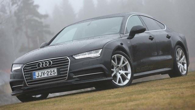 Koeajo: entistä vaikuttavampi Audi A7