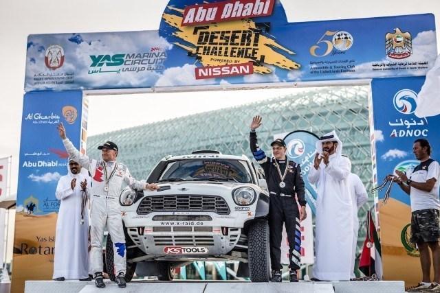 Hirvonen / Mini / Abu Dhabi Desert Challenge