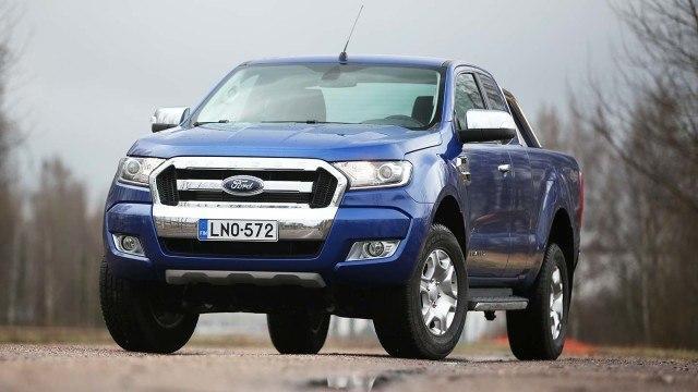 Koeajo: Ford Ranger - tuhtia vääntöä ja viiden tähden turvallisuutta