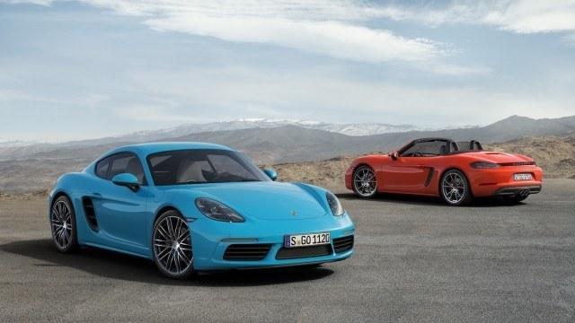 Porsche 718 -mallisto