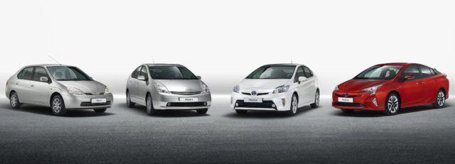 9 miljoonaa Toyotan hybridiä