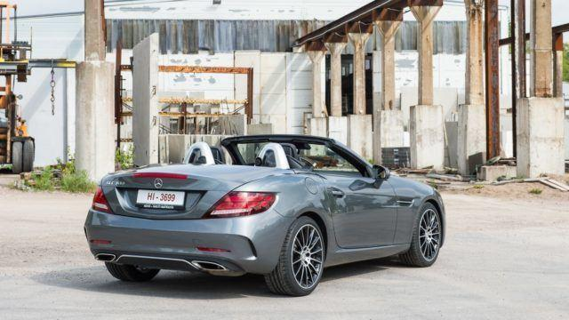 Maistiainen: Mercedes-Benz SLC 300