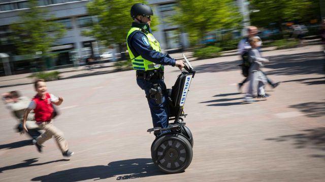 Poliisin Segway