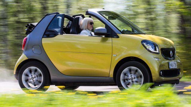 Koeajo: hyväntuulinen avoauto – Smart Fortwo Cabrio