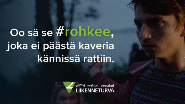 Liikenneturva #rohkee