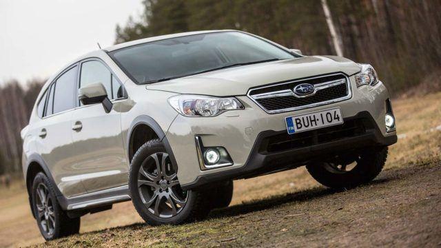 Koeajo: Subaru XV kulkee korkealla