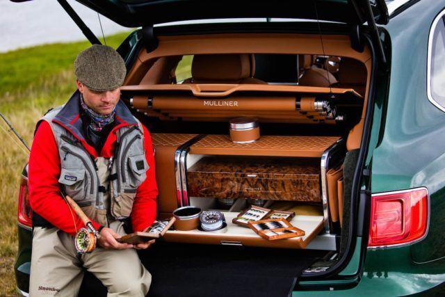Bentley Bentayga Fly Fishing by Mulliner