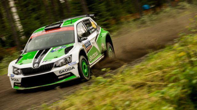 Škoda WRC2 Jyväskylä