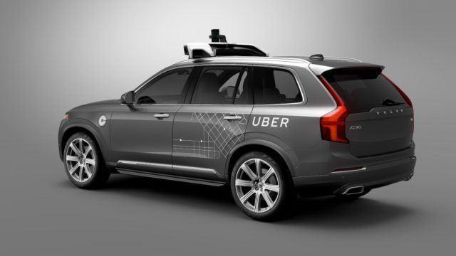 Volvo ja Uber yhteistyöhön