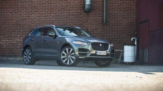 Koeajo: Jaguar F-Pace 30d AWD Aut Portfolio – kissa kerää kehuja