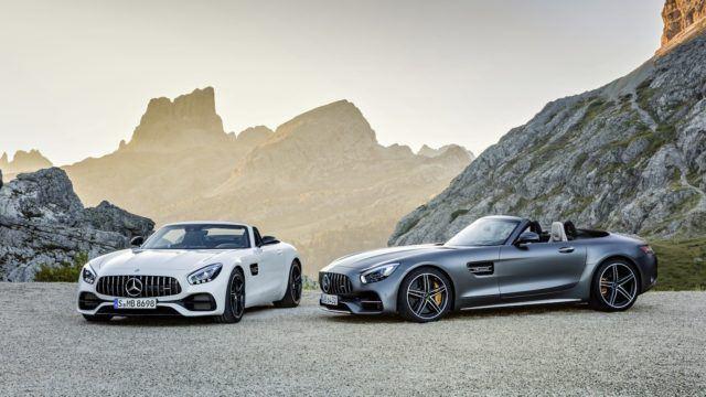 Mercedes-AMG GT Roadster ja GT C Roadster