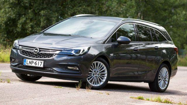 Koeajo: piilovoimaa perheelle – Opel Astra 1.6 Turbo