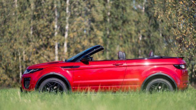 Range Rover Convertible >> Koeajo Luokkansa Ainoa Range Rover Evoque Convertible