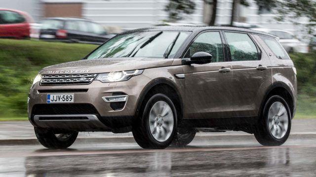 Koeajo: Land Rover Discovery Sport – uusi moottori, parempi taloudellisuus