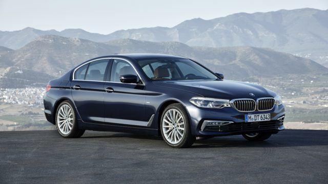 Uusi BMW 5-sarja
