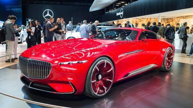 Pariisin konseptikattaus Vision Mercedes-Maybach 6