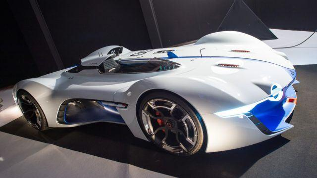 Pariisin konseptikattaus Alpine Vision Gran Turismo